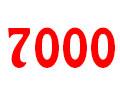 7000 Decreasing Image