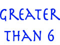 Greater Than 6 Image